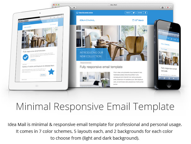Idea Mail - Minimal & Responsive Email Template By Gifky | Themeforest
