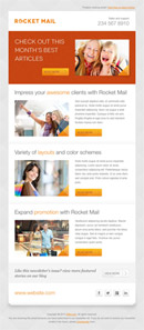 Rocket Mail - Clean & Modern Email Template - 1