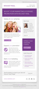 Rocket Mail - Clean & Modern Email Template - 2