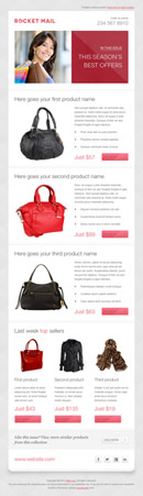 Rocket Mail - Clean & Modern Email Template - 5