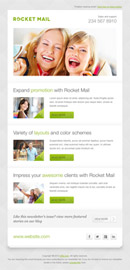 Rocket Mail - Clean & Modern Email Template - 3