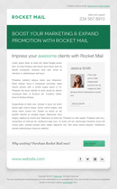 Rocket Mail - Clean & Modern Email Template - 6