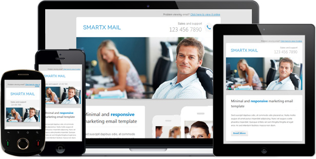Smartx Mail  Responsive Email Template By Gifky  Themeforest